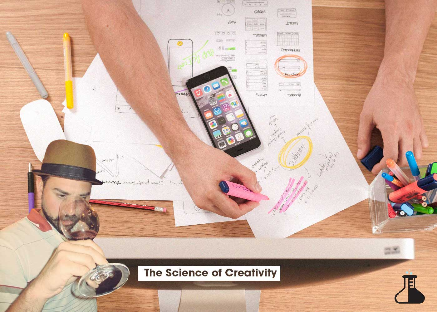 the header image for the science of creativity